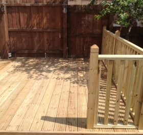 Composite decking in Bristol