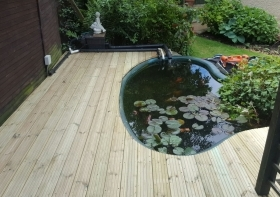 Timber Decking in Bristol